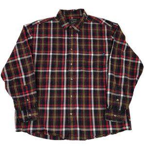 Woolrich Long Sleeve Plaid Button Down Shirt XL
